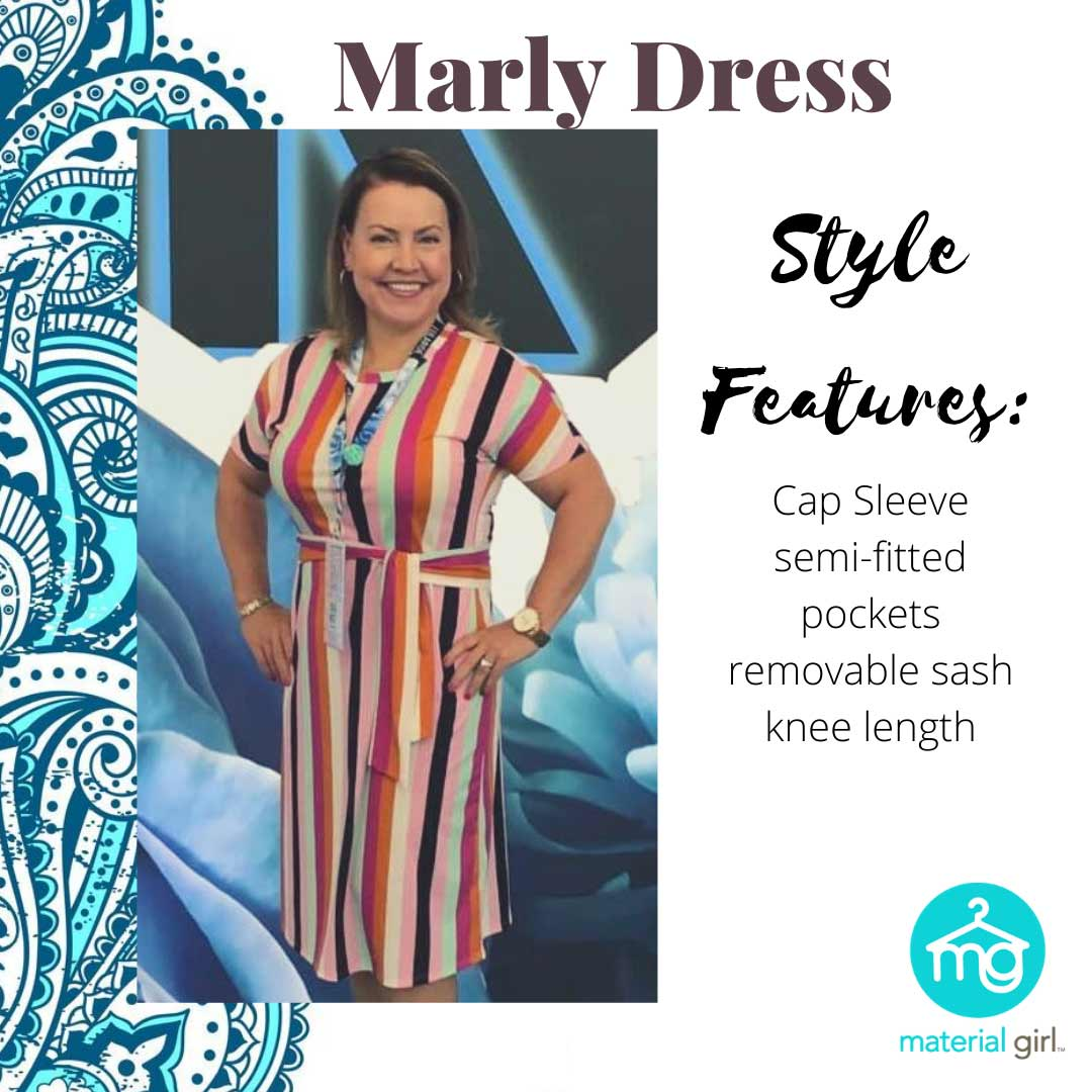 Styles - Marly Dress - Shop Material Girl