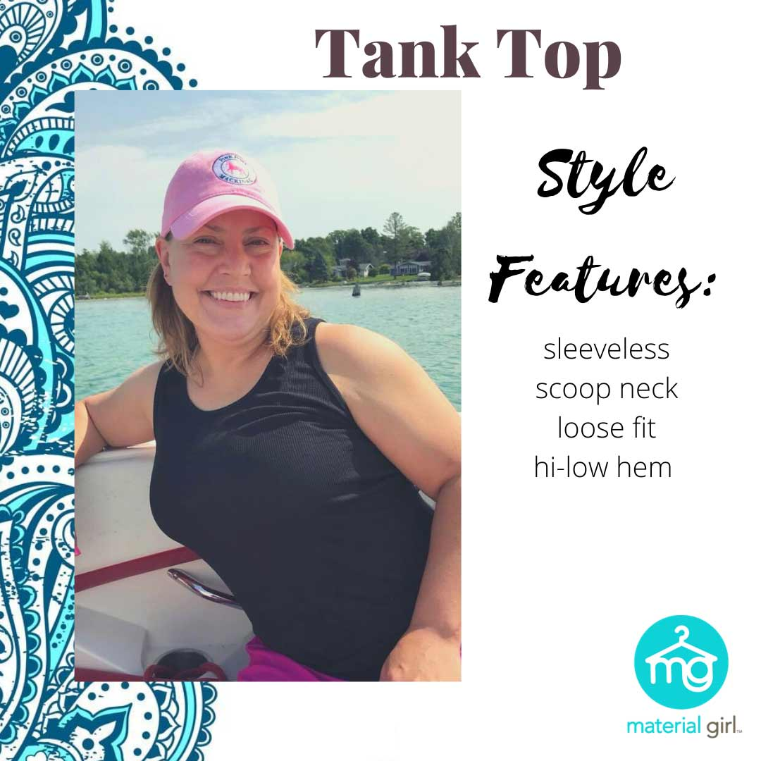 Styles - Tank Top - Shop Material Girl